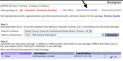 gcu dissertation template